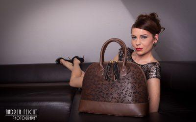 saribags Tasche Olivia mit Model