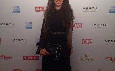 Sarah Gehring mit Tasche Lola for saribags