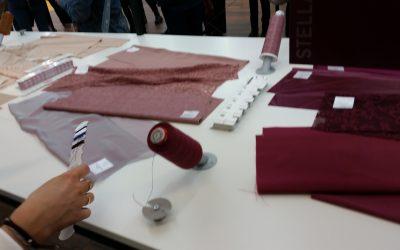 handverlesene Materialien - saribags Impressionen