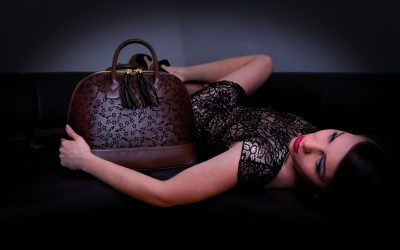 saribags Shopperbag Olivia mit Model
