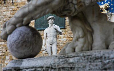 Il David, Galleria dell'accademia - saribags Impressionen