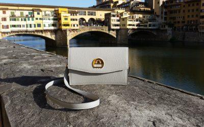 saribags Alice grau an der Ponte Vecchio