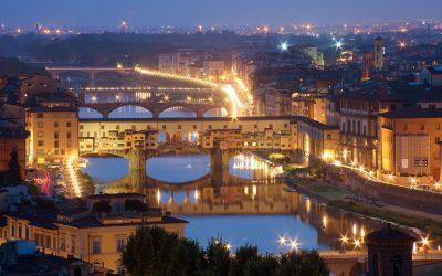 Florenz bei Nacht - saribags