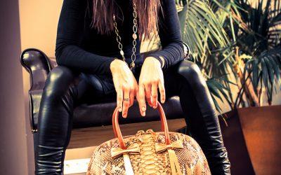 saribags - Shopper bag Olivia in Gold mit Designerin Sara Leupold
