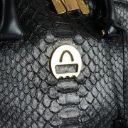 saribags Olivia Oro Python Schwarz Logo