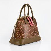 saribags Olivia Lochmuster rosa Seitenansicht