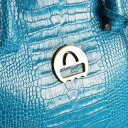 saribags Olivia Argento Türkis Logo