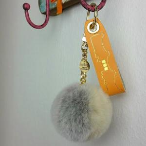 Schlüsselanhänger hellorange