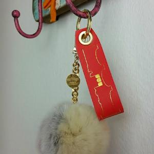 Schlüsselanhänger rot