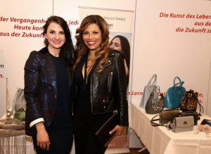 saribags designerin Sara Leupold mit Patricia Blanco